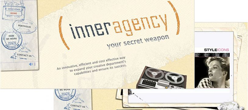 Inner Agency Website Design