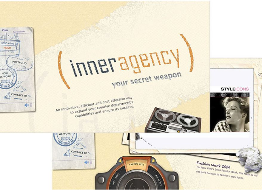 Inner Agency Website Design