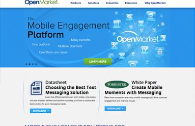 OpenMarket Website